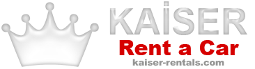 Bize Ulaşın - Kaiser Rentals Antalya